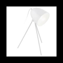 Don Diego  asztali lámpa, Törtfehér fém