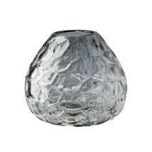Ottar váza, Szürke   üveg