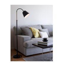 Kolding állólámpa, fekete/Sárgaréz