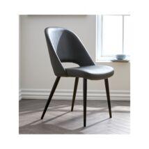 Grace szék, szürke textilbőr