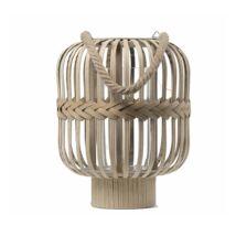 Amdi lámpás, natúr bambusz