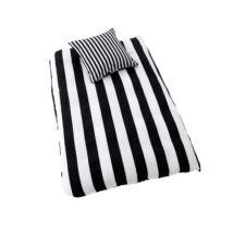 Royal fekete-fehér ágynemű huzat fekete/fehér pamut szatén