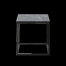 Square dohányzóasztal, fekete márvány
