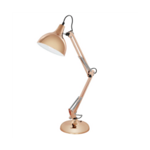Borgillio asztali lámpa, Réz