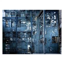 Blue Wall kép, 120x90cm