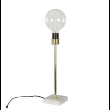 Dyvik asztali lámpa, márvány/arany