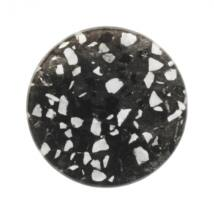 Nord mágneses üzenőtábla, fekete/Terazzo