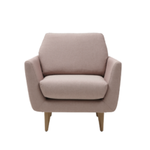 Rucola fotel bézs szövet