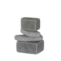 Rocks gyertyatartó, Szürke
