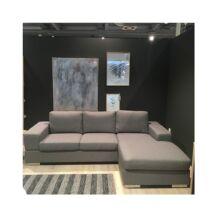 Umbria BUS kanapé jobbos ottománnal Szürke szövet
