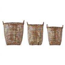 Bambusz kosarak, natúr bambusz
