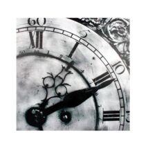 Óra 2. kép, Fekete-fehér 50x50 cm