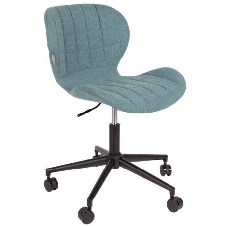 OMG irodai szék, világoskék szövet