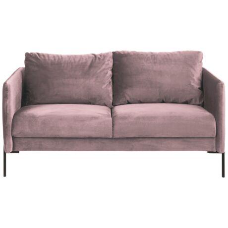 Kingsley 2,5 személyes kanapé Rózsaszín bársony