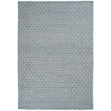 Tile szőnyeg petrol, 250x350cm
