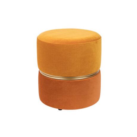 Bubbly puff Narancssárga szövet