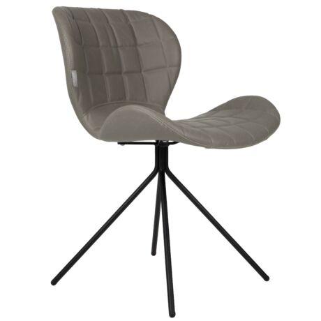 OMG LL szék, szürke textilbőr