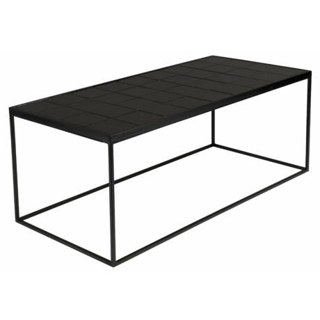 Glazed dohányzó asztal fekete
