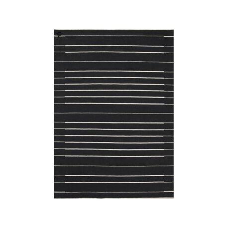Piano szőnyeg, fekete, 140x200 cm