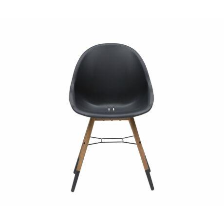 Nyhavn kerti szék, fekete