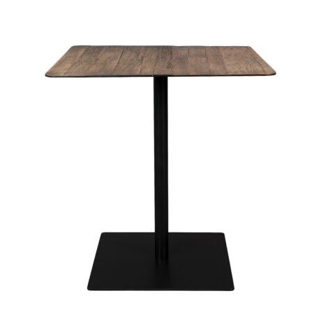 Braza bisztró asztal, barna, négyszögletes