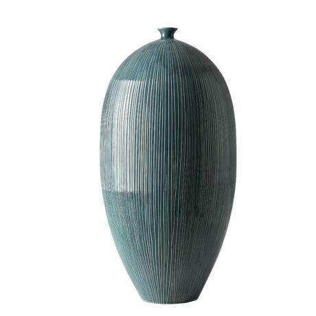 Cabril váza, petrol, H71cm