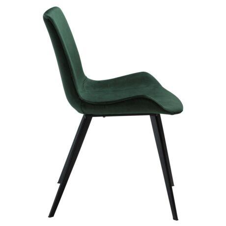 Hype szék zöld bársony