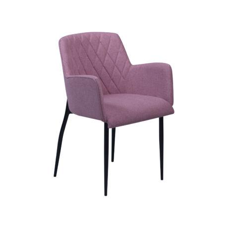 Rombo szék, dusty rose