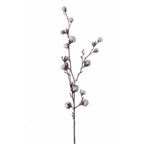 Művirág ág fehér virágokkal, fehér