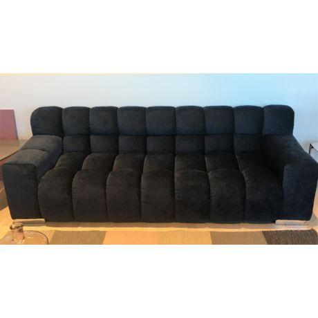Rozy 3 üléses kanapé, sötétkék