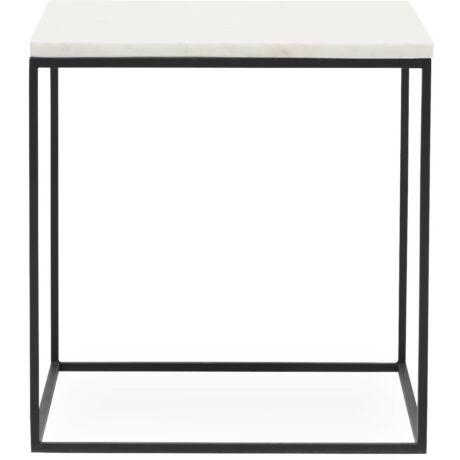 Square/Rex kisasztal fehér márvány 40cm