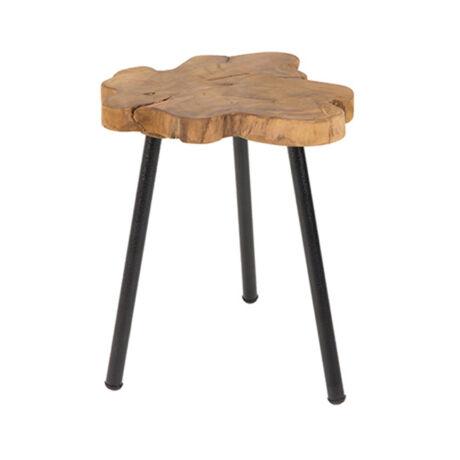 Treetop lámpaasztal, Natúr teakfa
