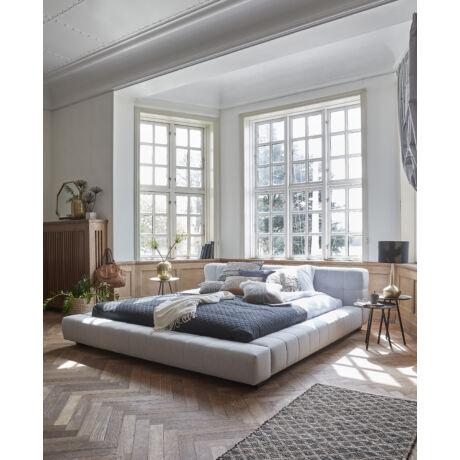 Cube 1 ágy, világosszürke 180x200 cm