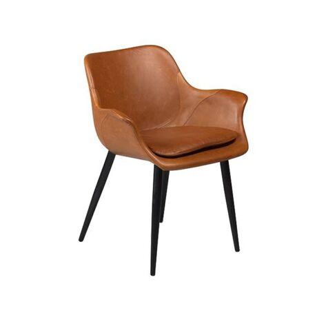 Combino szék, barna textilbőr