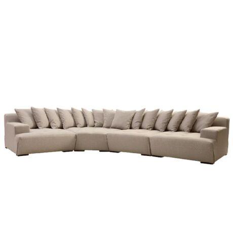 Big kanapé Homok szövet