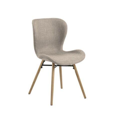 Batilda szék, homok/szürke szövet