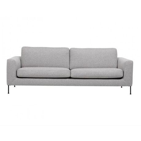 Cucito 3 személyes kanapé, világosszürke