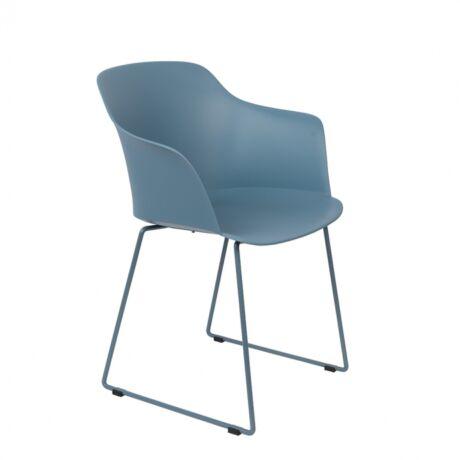 Tango szék, kék műanyag