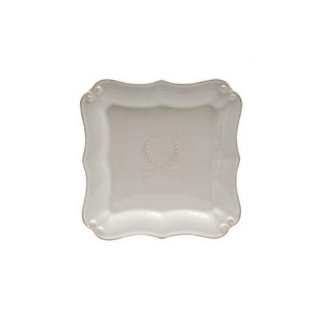 Romana desszertes tányér, krém kerámia
