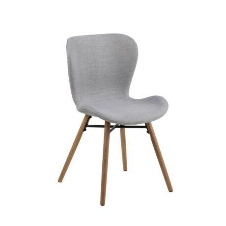 Batilda szék, szürke szövet