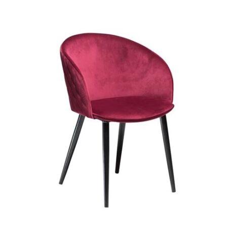 Dual szék, piros bársony