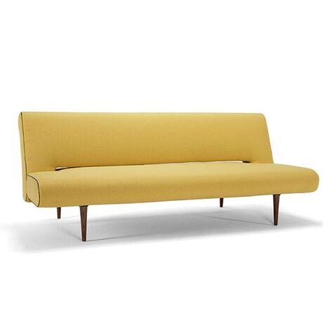 Unfurl ágyazható kanapé mustár színű