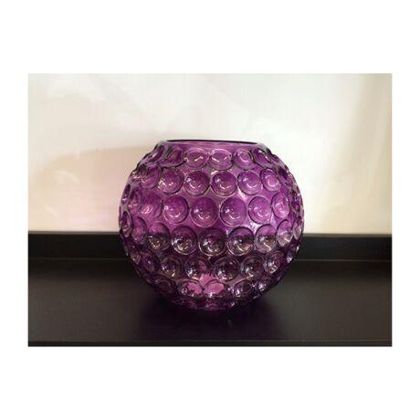 Unne váza, ciklámen üveg