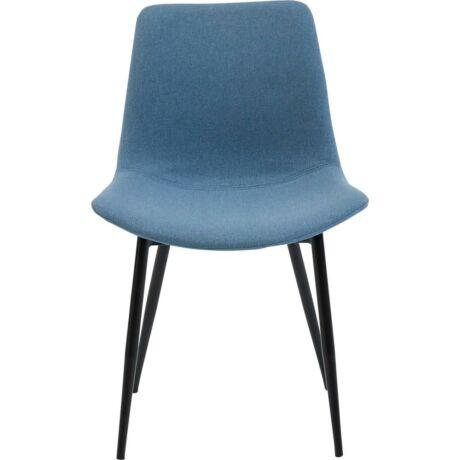 Carolina szék, kék szövet