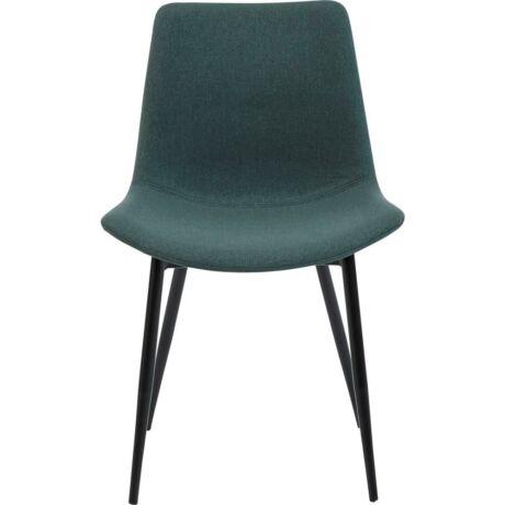 Carolina szék, zöld szövet