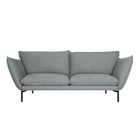 Hugo 3 személyes kanapé Szürkéskék szövet