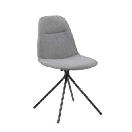 Clive szék, szürke szövet