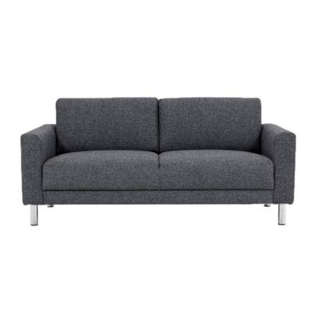 Cleveland 2 személyes kanapé Sötétszürke szövet