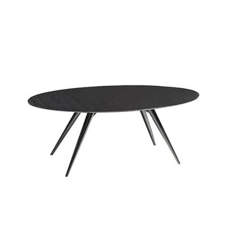 Eclipse étkezőasztal bővíthető, fekete