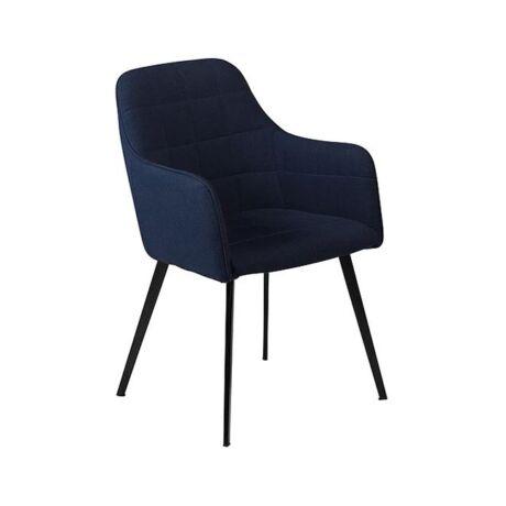 Embrace karfás szék, kék szövet
